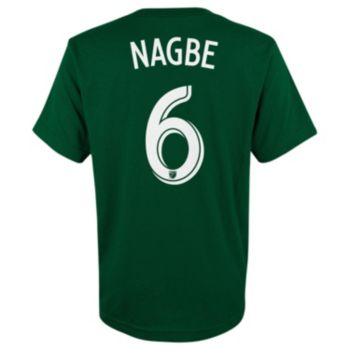 adidas Portland Timbers Darlington Nagbe Player Name and Number Tee - Boys 8-20