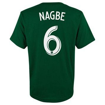 adidas Portland Timbers Darlington Nagbe Player Name and Number Tee - Boys 8-20