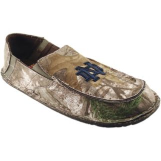 Men's Notre Dame Fighting Irish Cazulle Realtree Camouflage Canvas Loafers