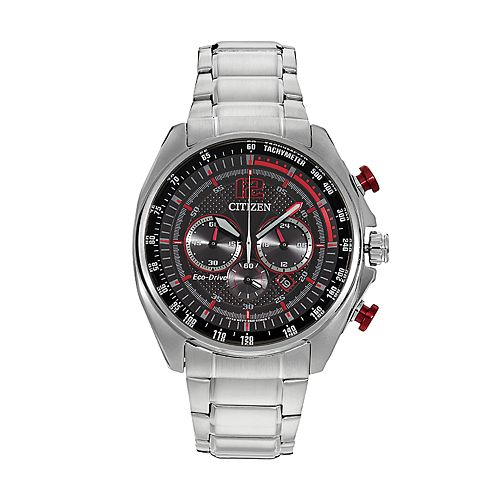 Drive from Citizen Eco-Drive Men's WDR Stainless Steel Chronograph Watch - CA4190-54E