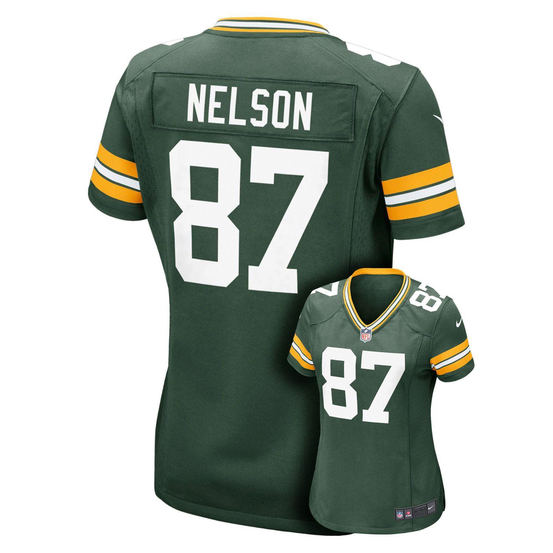 Womens Nike Green Bay Packers Jordy Nelson NFL Jersey