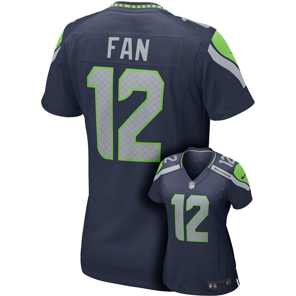 Women's Nike Seattle Seahawks Fan NFL Jersey