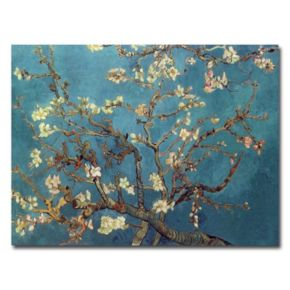 """""""Almond Blossoms"""" Canvas Wall Art by Vincent van Gogh"""
