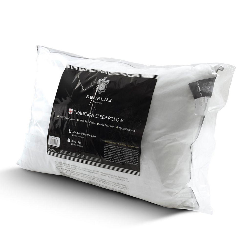 Kensington Manor 300-Thread Count Tradition Sleep Fiber Pillow