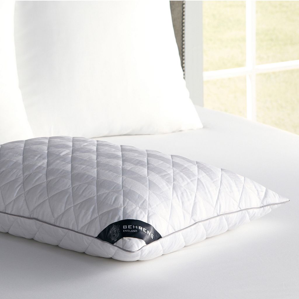 Kensington Manor 300-Thread Count Diamond Quilt Fiber Pillow