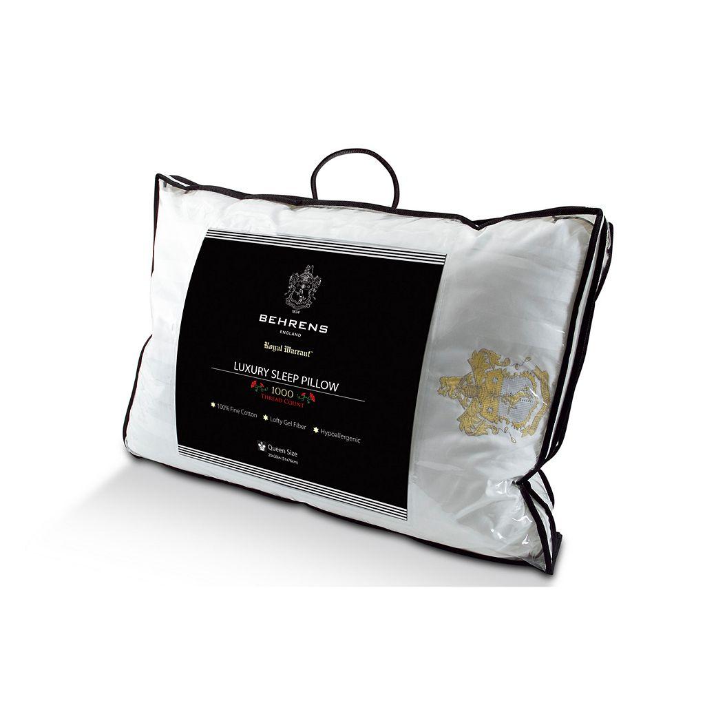 Kensington Manor 1000-Thread Count Luxury Sleep Gel Fiber Pillow
