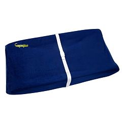 NoJo Alligator Blues Velboa Fleece Contoured Changing Pad Cover