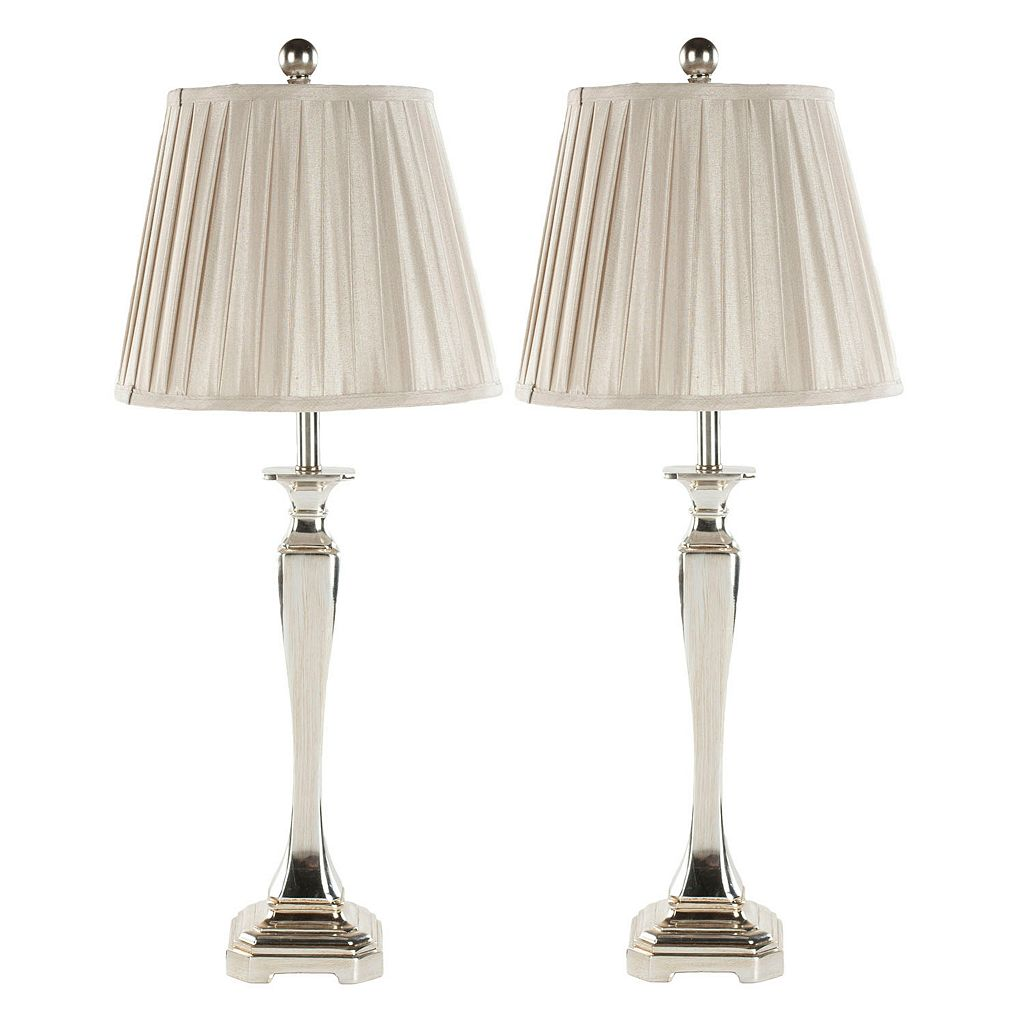 Safavieh 2-piece Athena Table Lamp Set