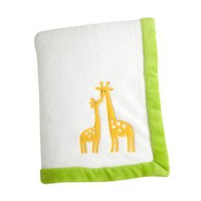 Carter's Animal Collection Applique Coral Fleece Blanket