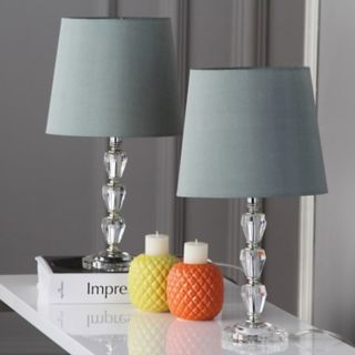 Safavieh 2-piece Dylan Tiered Crystal Orb Table Lamp Set