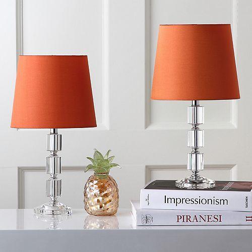 Safavieh 2-piece Erin Crystal Cube Table Lamp Set