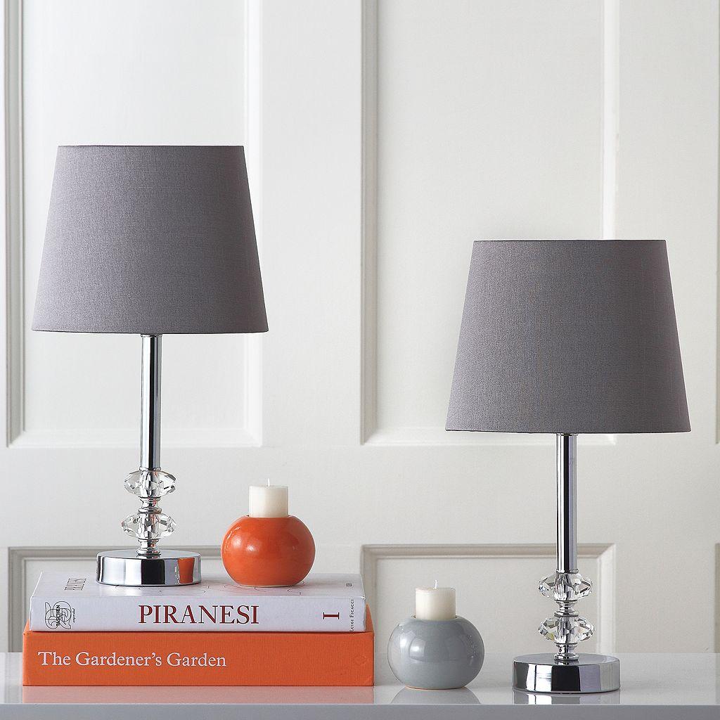 Safavieh 2-piece Ashford Crystal Orb Table Lamp Set