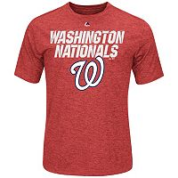 Men's Majestic Washington Nationals Winning Moment Synthetic Tee