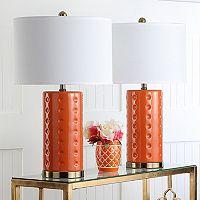 Safavieh 2 pc Roxanne Table Lamp Set