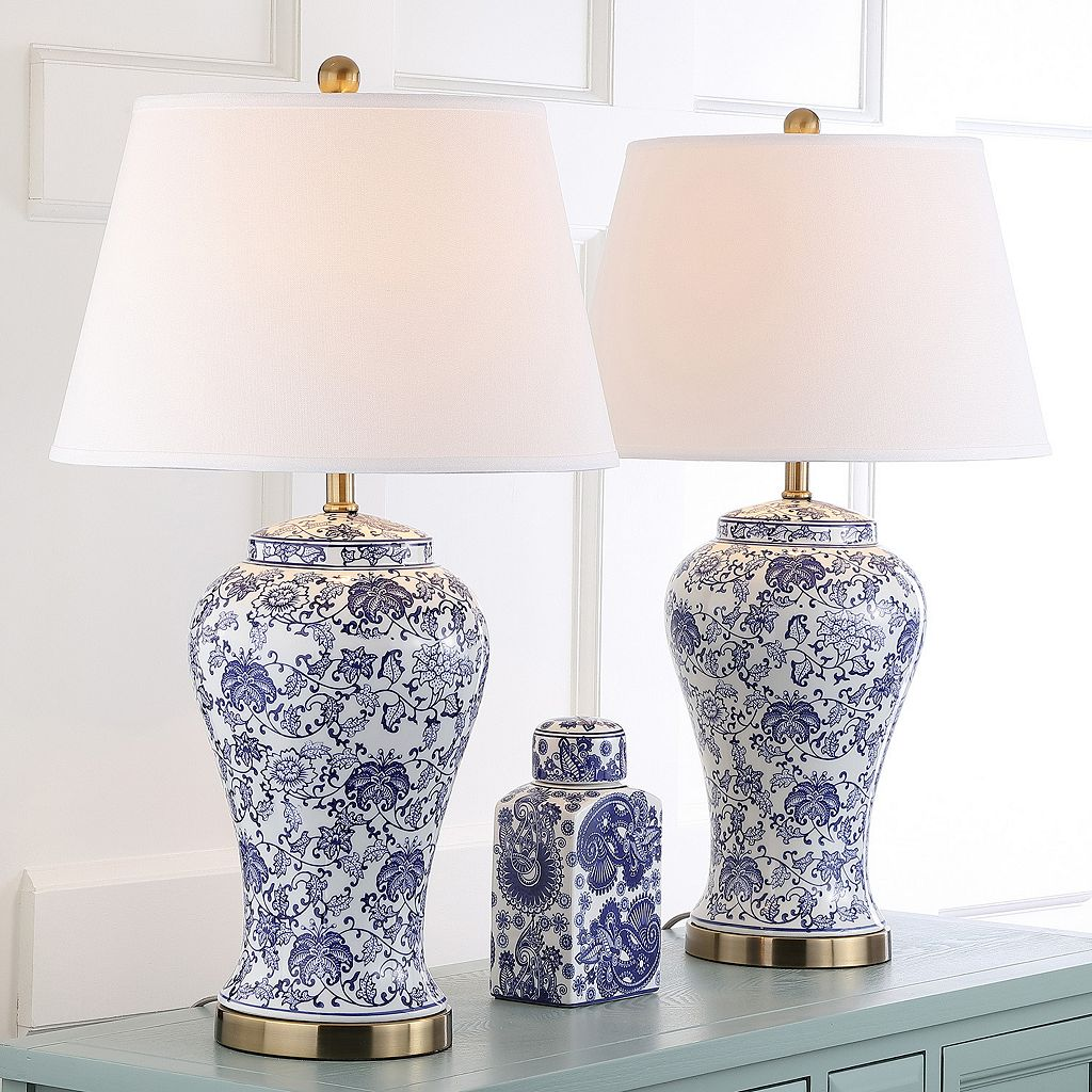 Safavieh 2-piece Spring Table Lamp Set