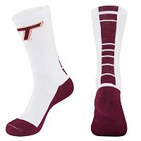 Women's Mojo Virginia Tech Hokies Champ 1/2-Cushion Performance Crew Socks