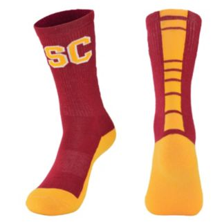 Youth Mojo USC Trojans Champ 1/2-Cushion Performance Crew Socks