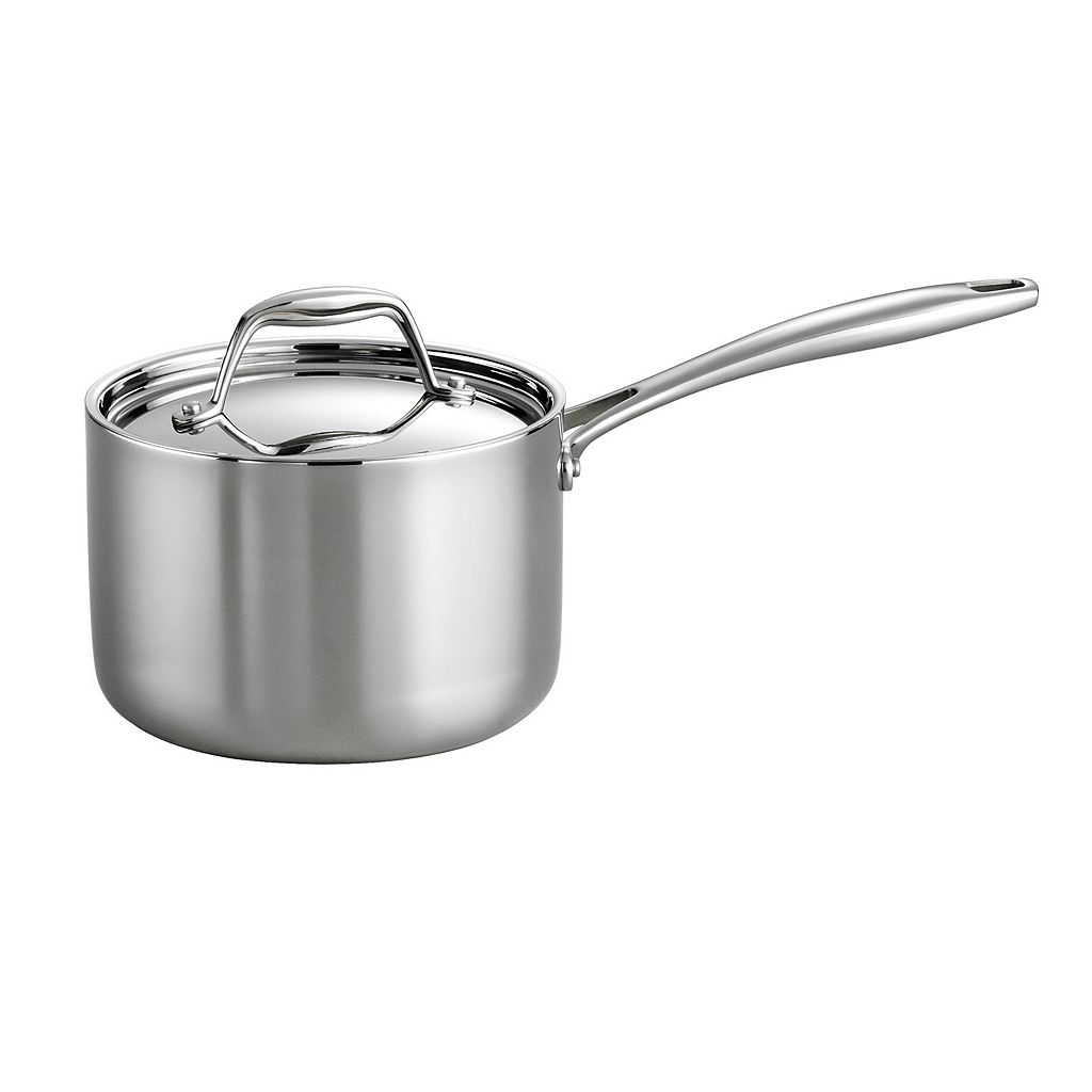 Tramontina Gourmet Tri-Ply Clad Stainless Steel 2-qt. Saucepan