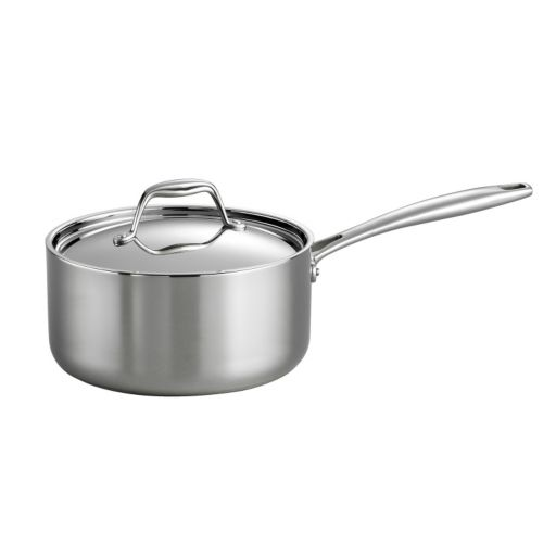 Tramontina Gourmet Tri-Ply Clad Stainless Steel 3-qt. Saucepan