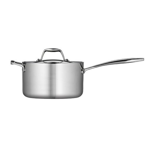 Tramontina Gourmet Tri-Ply Clad Stainless Steel 4-qt. Saucepan