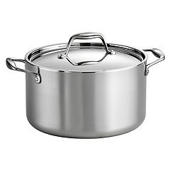 Tramontina Gourmet Tri-Ply Clad Stainless Steel 6-qt. Saucepot
