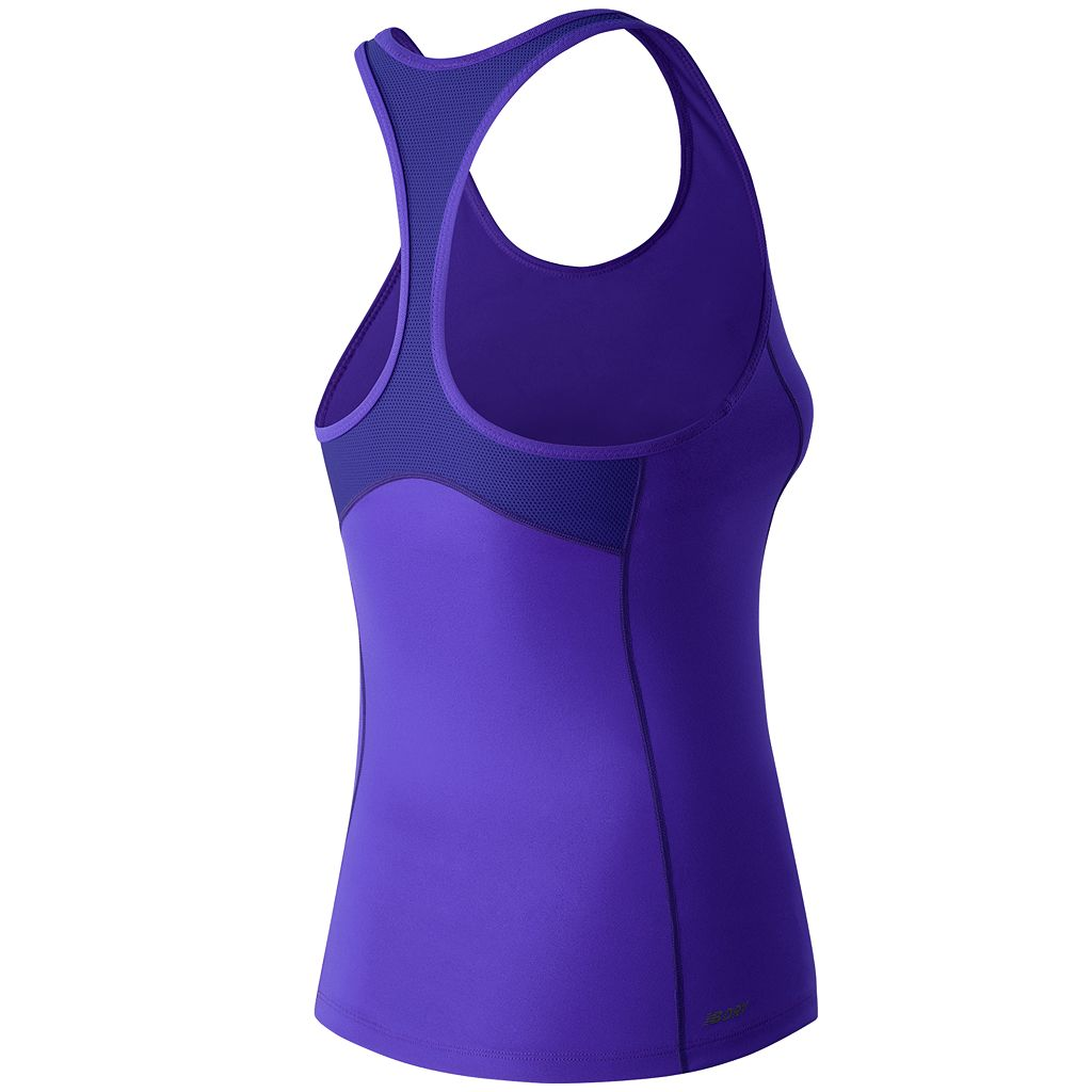 Women's New Balance Get Back Scoopneck Racerback Workout Tank
