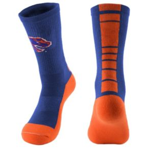 Women's Mojo Boise State Broncos Champ 1/2-Cushion Performance Crew Socks