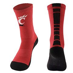 Women's Mojo Cincinnati Bearcats Champ 1/2-Cushion Performance Crew Socks