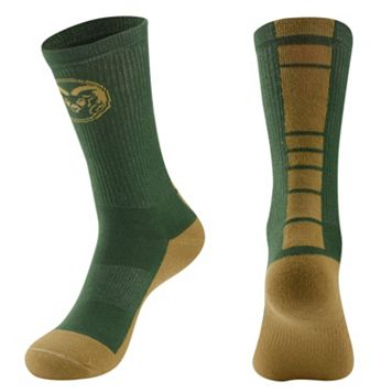 Women's Mojo Colorado State Rams Champ 1/2-Cushion Performance Crew Socks