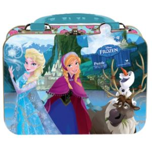 Disney's Frozen Elsa & Anna Puzzle in a Tin