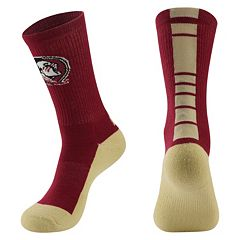 Women's Mojo Florida State Seminoles Champ 1/2-Cushion Performance Crew Socks