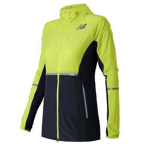 free shipping 8f7f6 26a23 Women's New Balance Hi-Viz Beacon Reflective Running Jacket