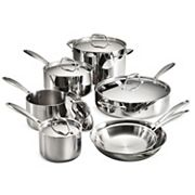 Tramontina Gourmet Tri-Ply 12 pc Stainless Steel Cookware Set