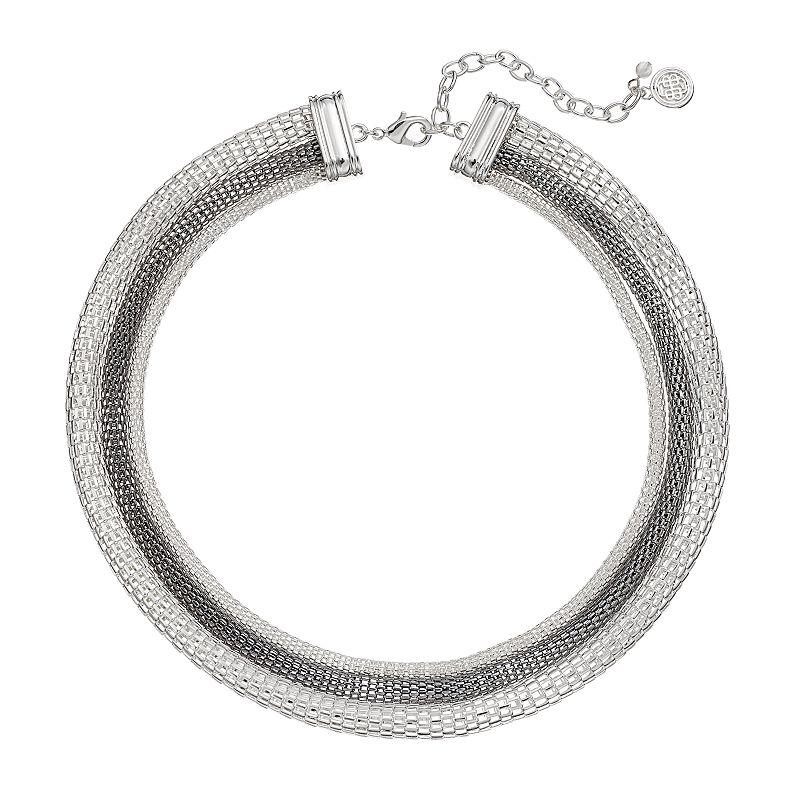 Dana Buchman Mesh Multistrand Necklace