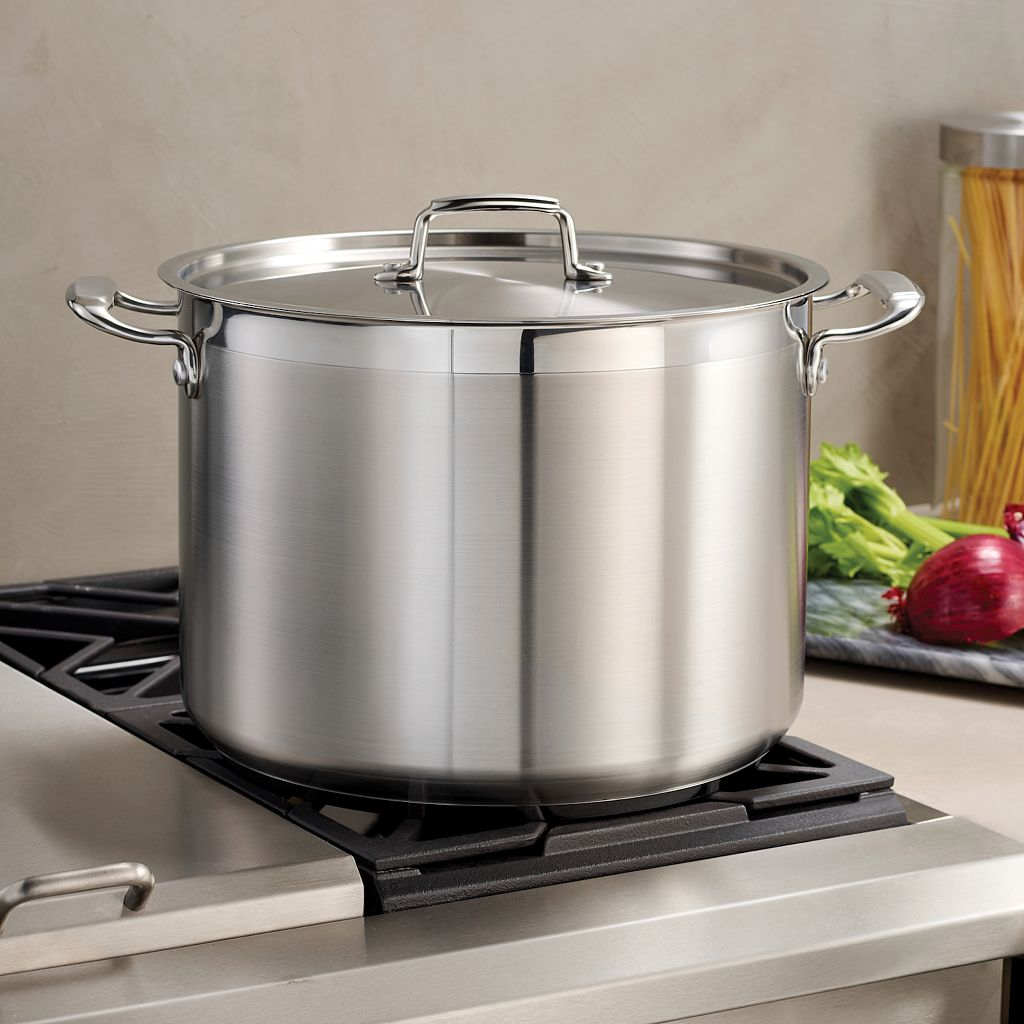 Tramontina Gourmet Tri-Ply Base Stainless Steel 16-qt. Stockpot