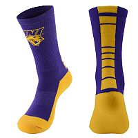 Women's Mojo Northern Iowa Panthers Champ 1/2-Cushion Performance Crew Socks