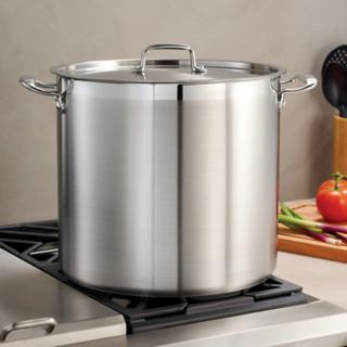 Tramontina Gourmet Tri-Ply Base Stainless Steel 24-qt. Stockpot