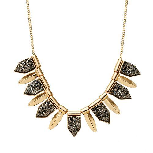 Mudd® Spike Necklace
