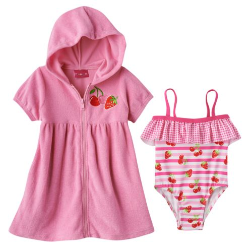 Girls Peacoat Baby Outerwear Clothing