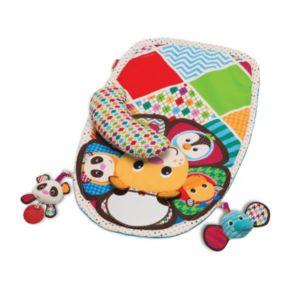 Infantino Peek & Play Tummy Time Activity Set