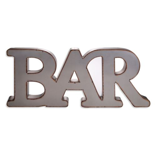 Home Essentials and Beyond ''Bar'' Wall Decor