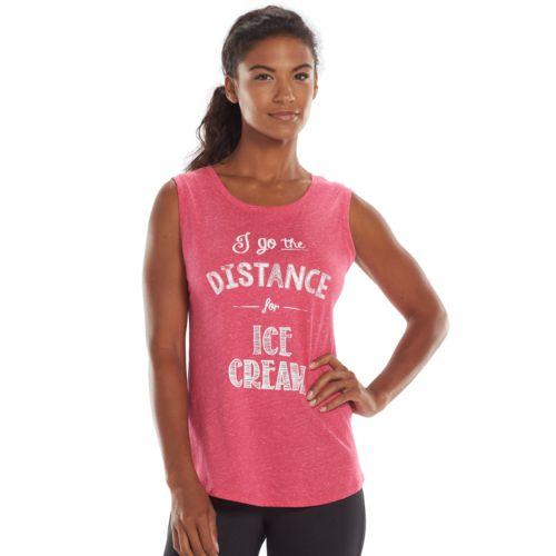 Tek Gear® Graphic Yoga Tank - Women's