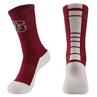 Women's Mojo Stanford Cardinal Champ 1/2-Cushion Performance Crew Socks
