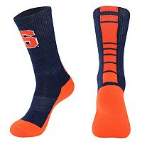 Women's Mojo Syracuse Orange Champ 1/2-Cushion Performance Crew Socks