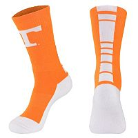 Women's Mojo Tennessee Volunteers Champ 1/2-Cushion Performance Crew Socks