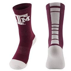 Women's Mojo Texas A&M Aggies Champ 1/2-Cushion Performance Crew Socks