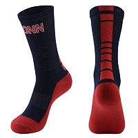 Women's Mojo UConn Huskies Champ 1/2-Cushion Performance Crew Socks