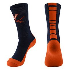 Women's Mojo Virginia Cavaliers Champ 1/2-Cushion Performance Crew Socks