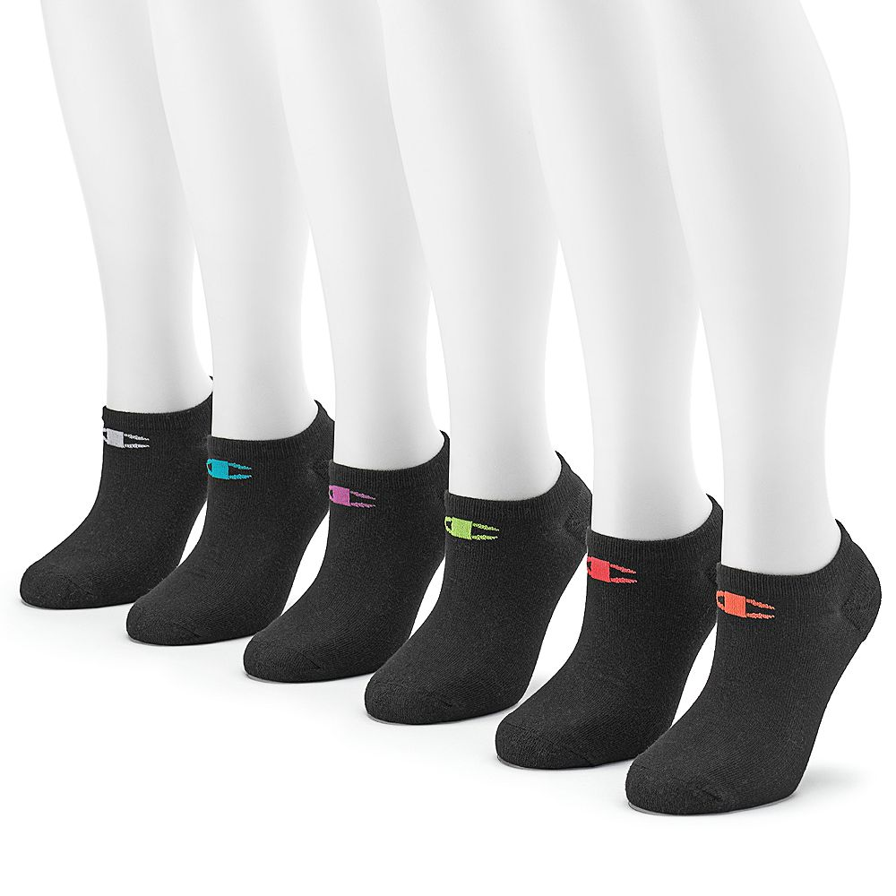 Champion® Women's 6-pk. Cushioned Performance Low-Cut Socks