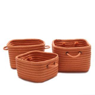 Colonial Mills Shelf Storage Braided Basket